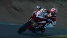 Video: Retired Freerider Wins the Pikes Peak International Hill Climb