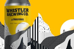 Trailforks Partners With Whistler Brewing to Give Back to the Trails