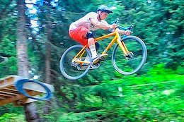 Video: Shralping & Sending Downhill on Orange's Cyclocross Racer