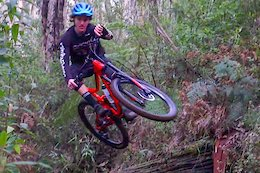 Video: Junior World Champs Contender Rips His Local Trails