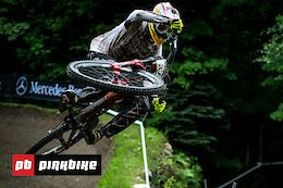 Inside The Tape: Greg Minnaar's Massive Huck From Mont-Sainte-Anne DH World Cup 2018
