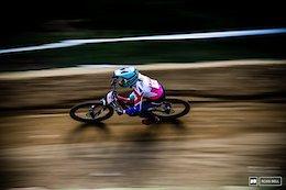 Qualifying Photo Epic: Mont-Sainte-Anne DH World Cup 2018