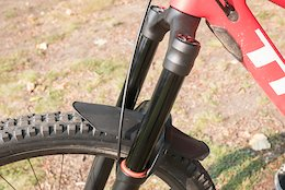 Spotted: Manitou's Prototype Enduro Fork and Sun Ringle's Carbon Wheels - Crankworx Whistler 2018