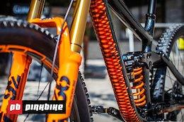 Video: Bryn Atkinson's Custom Painted 'Snake' Bike
