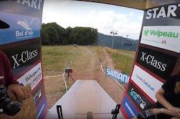 Video: Luca Shaw & Greg Minnaar's Course Preview POV - La Bresse World Cup DH 2018
