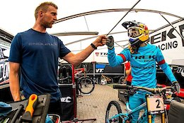 Rachel Atherton's Mechanic Joe Krejbich on the Downtime Podcast