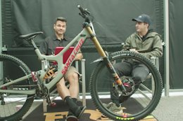 Video: The Finer Points of Luca Shaw's Bike Setup in 'Between Two Puzzlers'