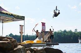 Video: The Partymaster Tour Goes Lake Jumping & Visits Bancroft Skatepark