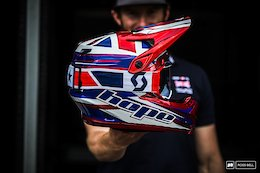 Pinkbike Poll: Who Has the Best DH World Champs Helmet?