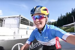 Video: XC Course Preview with Emily Batty - Lenzerheide World Championships 2018
