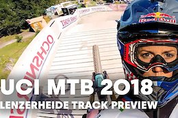 Video: DH Course Preview with Rachel Atherton - Lenzerheide World Championships 2018