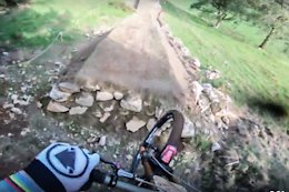 Video: Gee Atherton's Hardline Course Preview POV
