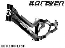 2008 BT RAVen 8.0 Biketrial frame