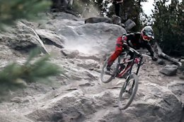 Video: Dialling in the Race Lines at Mammoth Bike Park, California