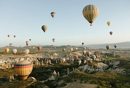 Video Amp Photo Epic Riding In Turkey Looks Like A Fairytale