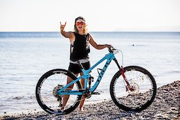 Bike Check: Katy Winton's Trek Slash - Finale Ligure EWS