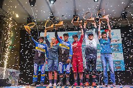 Team CRC Celebrate at the Finale EWS