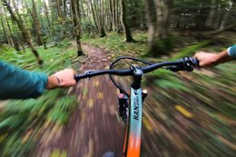 POV Video: Smooth Ride Down 'Paradise Trail' with Vinny T