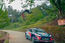 Video: Andreu Lacondeguy Takes on WRC Driver Dani Sordo