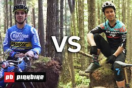 Video: Sam Hill vs. Remi Gauvin - Pinkbike Hot Laps