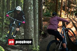 Video: Miranda Miller vs. Claire Buchar - Pinkbike Hot Lap