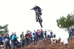Video: Loam Carnage & Long Jumping at This Christmas Social