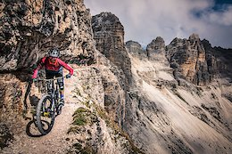 Video: Killian Bron Rides Death-Defying Cliffside Trail