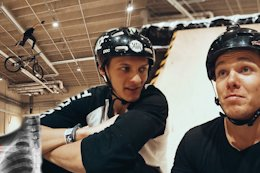 Video: Indoor Skatepark Madness From Max Fredriksson & Lukas Knopf