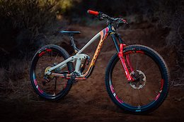Custom Build: a Pony Express Van Inspired, Totally Over-the-Top Kona Process 153 29er