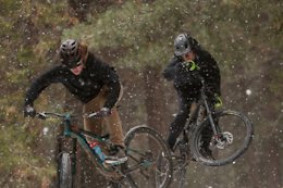 Video: Ripping Skypark Bike Park in the Snow