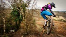 Unit cycles rider - Toby Peters throwing some shapes on the Santa Cruz at the Saturday Mega Sesh