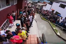 Video: Hometown Hero Marcelo Gutierrez's Winning Run at the Manizales Urban Downhill