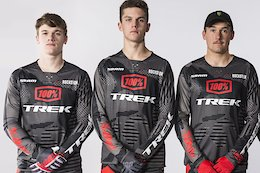 Trek Announces Third of 4 Riders on New DH Team - Charlie Harrison