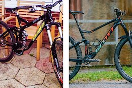 The 10 Year Challenge... For Mountain Bikes