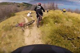 Video: Crazy Mass Start POV from Mcgazzalanche