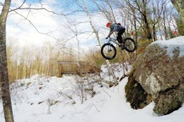 Video: Not Your Average Fatbike Ride at Highland MTB Park