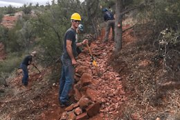 Sedona Breaks Ground on New 29 Mile Trail System
