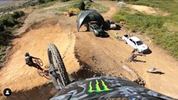 Video: Adolf Silva Rides Out on the Side of a Jump at DarkFEST
