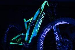 Ken Block's Glow in the Dark Specialized S-Works Stumpjumper
