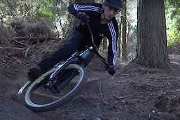 Video: Riding Bike Park Trails on a Jump Bike