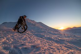 Winter Biking in the Scottish Highlands