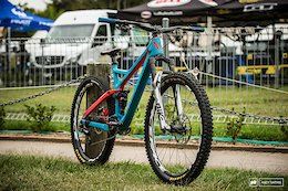 Spotted: New RockShox Pike Ultimate - Crankworx Rotorua 2019