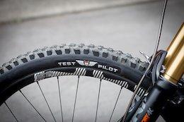 Spotted: Prototype Maxxis Assegai Tire - Crankworx Rotorua 2019
