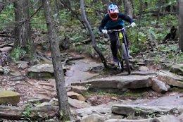 Video: Smashing Rocks at Mountain Creek Bike Park