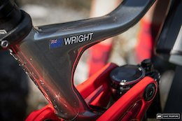 Bike Check: Keegan Wright's Devinci Troy - Short Travel Thunder