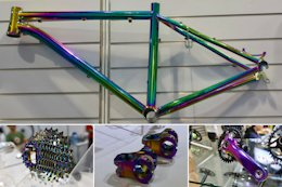 Can We Find a Full Bike's Worth of Oil Slick Components? - Taipei Cycle Show 2019