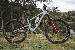 3 Pro Bikes from EWS Tasmania 2019