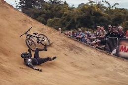 Video: Crankworx Rotorua Slopestyle Contest Day with Max Fredriksson