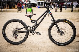 Bike Check: Dustin Malley's Aggressive-Geometry Suspension Bikes for Kids - Sea Otter 2019