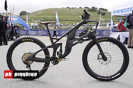 Video: Structure Cycleworks' Carbon Enduro Bike and Linkage Fork - Sea Otter 2019
